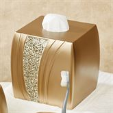 Glamour Tissue Cover Champagne Gold