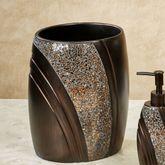 Grandeur Wastebasket Bronze