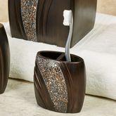 Grandeur Toothbrush Holder Bronze