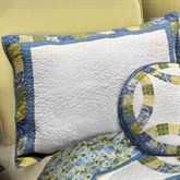 Arcadia Quilted Sham White Standard