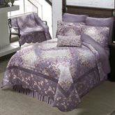 Secret Garden Irish Chain Quilt Wisteria