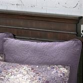 Secret Garden Solid Color Quilted Sham Wisteria European
