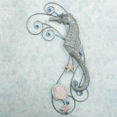 Seahorse Serenade Right Wall Sculpture  Right