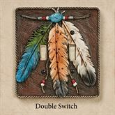 Feathers Double Switch Brown