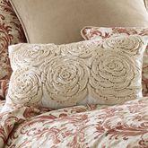 Savannah Tailored Pillow Ecru Rectangle