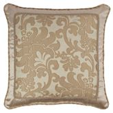 Casablanca Corded Pillow Light Almond 20 Square