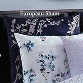 Willow Embroidered Sham Midnight European