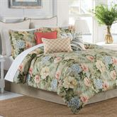 Isla Verde Tropical Comforter Set Dark Beige