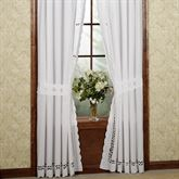 Hellina Tailored Curtain Pair