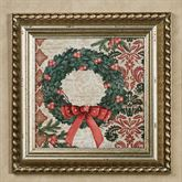 Elegant Christmas II Framed Wall Art Multi Warm