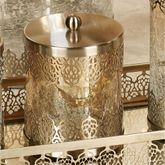 Ingrid Covered Jar Gold