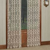 Ara Macrame Lace Curtain Panel
