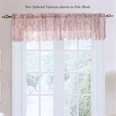 Petra Sheer Lace Tailored Valance 55 x 16