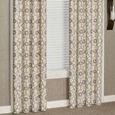 Izmir Wide Grommet Curtain Pair Gray 100 x 84