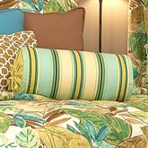 Brunswick Striped Pillow Multi Warm Neckroll