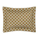 Brunswick Flanged Pillow Multi Warm Rectangle