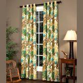 Brunswick Wide Grommet Curtain Pair Multi Warm 100 x 84