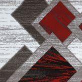 Balbis Rug Runner Dark Red 111 x 72