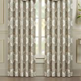 Genevieve Wide Tailored Curtain Pair Aqua Mist 100 x 84