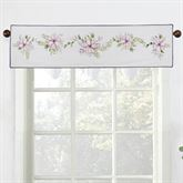 Forget Me Not Tailored Valance White 56 x 15