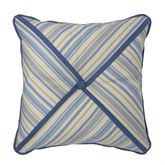 Janine Tufted Pillow Federal Blue 16 Square