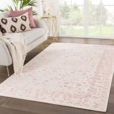 Aline Rectangle Rug Pink