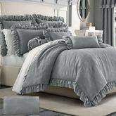 Emily Alloy Mini Comforter Set Light Gray