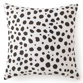Calantha Dotted Tailored Pillow Off White 20 Square