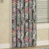 Calantha Tailored Curtain Panel Dark Gray 50 x 84