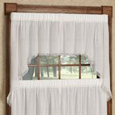 Tipton Semi Sheer Swag Valance Pair 72 x 36