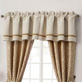 Ansonia Tailored Window Valance Ivory 55 x 18