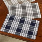 Dylan Plaid Placemats Set of Four