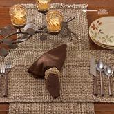 Tweed Basics Table Runner Espresso 13 x 54