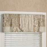 Maisonette Tailored Valance Taupe 60 x 16