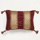 Palatial Piped Rectangle Pillow