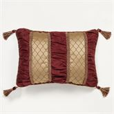 Palatial Piped Rectangle Pillow