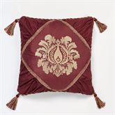 Palatial Piped Square Pillow