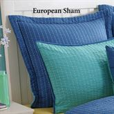Dash Quilted Sham European