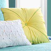 Dash Tufted Pillow 18 Square