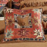 Canyon Ridge Piped Square Pillow