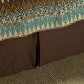 Sea Breeze Star Kick Pleat Bedskirt Multi Warm