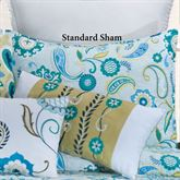 Alena Quilted Sham Mint Standard