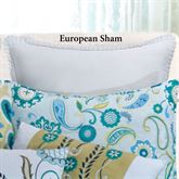 Alena Ruffled Sham Mint European