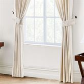 Paloma Wide Tailored Curtain Pair Natural 100 x 84