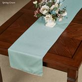 French Perle Solid Color Table Runner 14 x 90