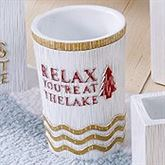Lake Words Tumbler Ivory