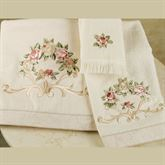 Rosefan Towel Set  Set of Three