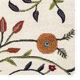 Autumn Arise Rug Runner Light Cream 26 x 8