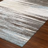 Resonance Rectangle Rug Gray