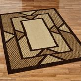 Ternion Rectangle Rug Espresso